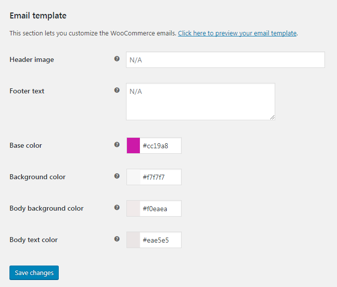 Customize email templates