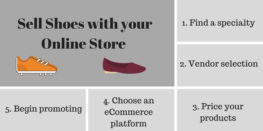 How to sell shoes online